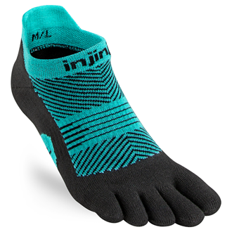 Injinji Womens RUN Lightweight No-Show