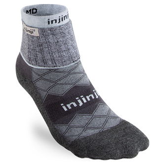 Injinji LINER + RUNNER Womens Mini-Crew