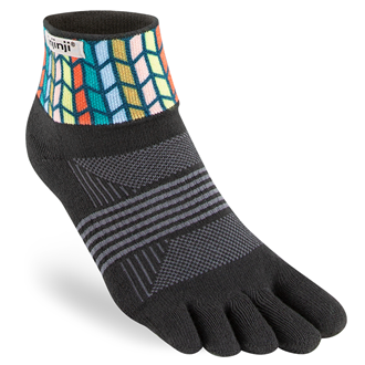 Injinji SPECTRUM TRAIL Womens Midweight Mini-Crew